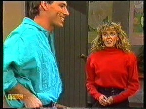 Steve Fisher, Charlene Robinson in Neighbours Episode 0740