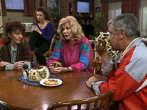 Pam Willis, Gaby Willis, Madge Bishop, Lou Carpenter in Neighbours Episode 1721