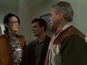 Dorothy Burke, Paul Robinson, Jim Robinson in Neighbours Episode 1721