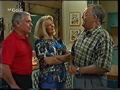 Lou Carpenter, Madge Bishop, Harold Bishop in Neighbours Episode 2777