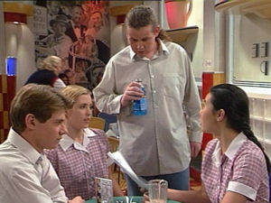 Lance Wilkinson, Amy Greenwood, Toadie Rebecchi, Cara Winfield in Neighbours Episode 2965