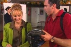 Candace Barkham, Karl Kennedy in Neighbours Episode 4214