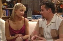 Toadie Rebecchi, Sindi Watts in Neighbours Episode 4218