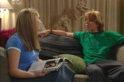 Heather Green, Dino, Boyd Hoyland in Neighbours Episode 4219