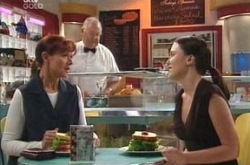 Harold Bishop, Susan Kennedy, Libby Kennedy in Neighbours Episode 4219