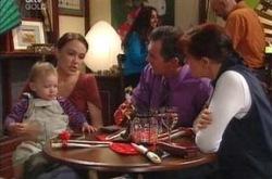 Ben Kirk, Libby Kennedy, Karl Kennedy, Susan Kennedy in Neighbours Episode 4219