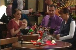 Libby Kennedy, Ben Kirk, Karl Kennedy, Susan Kennedy in Neighbours Episode 4220