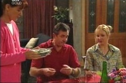 Susan Kennedy, Karl Kennedy, Candace Barkham in Neighbours Episode 4221