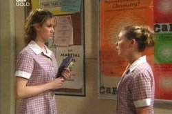 Nina Tucker, Michelle Scully in Neighbours Episode 4222