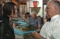 Dusk Dundler, Lou Carpenter, Harold Bishop in Neighbours Episode 4223
