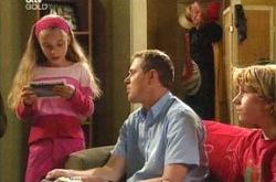 Summer Hoyland, Max Hoyland, Boyd Hoyland in Neighbours Episode 4224