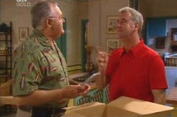 Gino Esposito, Harold Bishop in Neighbours Episode 4226