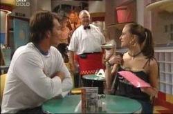 Taj Coppin, Harold Bishop, Tahnee Coppin in Neighbours Episode 4230