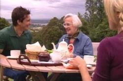 Darcy Tyler, Nancy Bliss, Dee Bliss in Neighbours Episode 4232