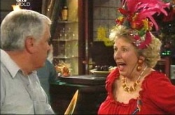 Lou Carpenter, Valda Sheergold in Neighbours Episode 4234