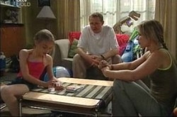 Summer Hoyland, Max Hoyland, Dino, Steph Scully in Neighbours Episode 4234