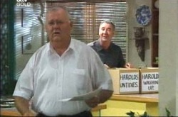 Harold Bishop, Gino Esposito in Neighbours Episode 4235