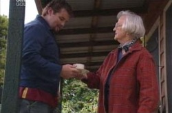 Toadie Rebecchi, Nancy Bliss in Neighbours Episode 4236