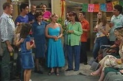 Max Hoyland, Jack Scully, Lyn Scully, Michelle Scully, Susan Kennedy, Tahnee Coppin, Joe Scully, Lori Lee, Nina Tucke in Neighbours Episode 4237