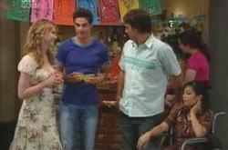 Nina Tucker, Jack Scully, Taj Coppin, Lori Lee in Neighbours Episode 4238