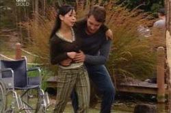 Taj Coppin, Lori Lee in Neighbours Episode 4238