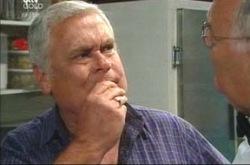 Lou Carpenter, Harold Bishop in Neighbours Episode 4240