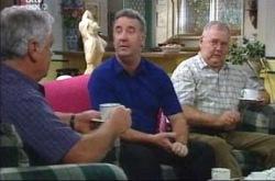 Lou Carpenter, Gino Esposito, Harold Bishop in Neighbours Episode 4240