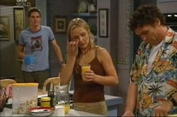 Jack Scully, Steph Scully, Joe Scully in Neighbours Episode 4271