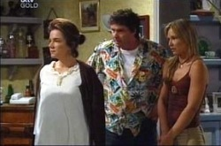 Lyn Scully, Joe Scully, Steph Scully in Neighbours Episode 4272