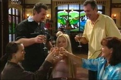 Libby Kennedy, Toadie Rebecchi, Dee Bliss, Karl Kennedy, Susan Kennedy in Neighbours Episode 4273