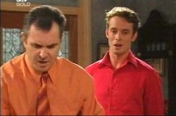 Karl Kennedy, Cameron Hodder in Neighbours Episode 4274