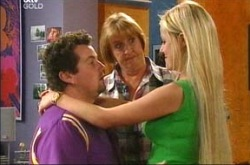 Toadie Rebecchi, Angie Rebecchi, Dee Bliss in Neighbours Episode 4276