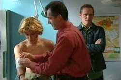 Boyd Hoyland, Karl Kennedy, Max Hoyland in Neighbours Episode 4277