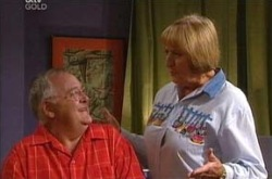 Harold Bishop, Angie Rebecchi in Neighbours Episode 4280
