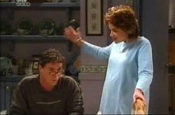 Joe Scully, Lyn Scully in Neighbours Episode 4281