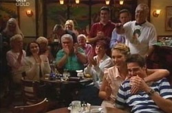 Harold Bishop, Lou Carpenter, Susan Kennedy, Nina Tucker, Jack Scully in Neighbours Episode 4283