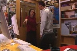 Libby Kennedy, Taj Coppin in Neighbours Episode 4284