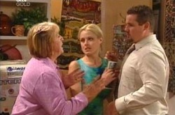 Angie Rebecchi, Dee Bliss, Toadie Rebecchi in Neighbours Episode 4284