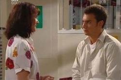 Taj Coppin, Susan Kennedy in Neighbours Episode 4284