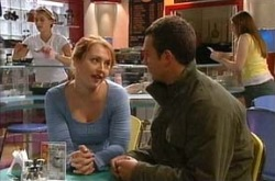 Sophie Miles, Taj Coppin in Neighbours Episode 4302