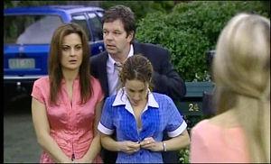 Liljana Bishop, David Bishop, Serena Bishop in Neighbours Episode 4652