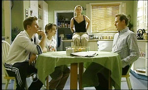Boyd Hoyland, Summer Hoyland, Steph Scully, Max Hoyland in Neighbours Episode 4654