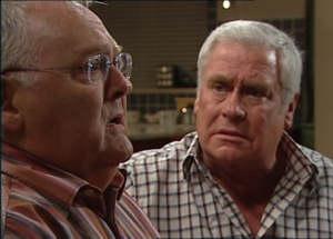 Harold Bishop, Lou Carpenter in Neighbours Episode 4845