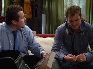 Toadie Rebecchi, Stuart Parker in Neighbours Episode 4847