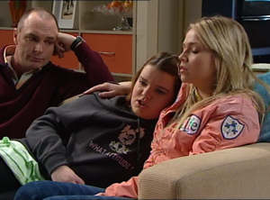 Kim Timmins, Bree Timmins, Sky Mangel in Neighbours Episode 4847