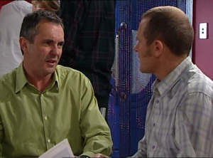 Karl Kennedy, Max Hoyland in Neighbours Episode 4847