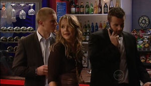 Boyd Hoyland, Steph Scully, Toadie Rebecchi in Neighbours Episode 5095
