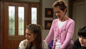Bree Timmins, Rachel Kinski, Susan Kennedy in Neighbours Episode 5110