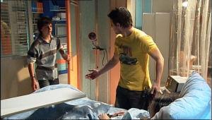 Zeke Kinski, Guy Sykes, Katya Kinski in Neighbours Episode 5110