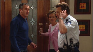 Susan Kennedy, Karl Kennedy, Allan Steiger in Neighbours Episode 5111